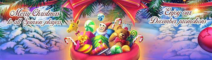 Spinson Casino Christmas Free Spins
