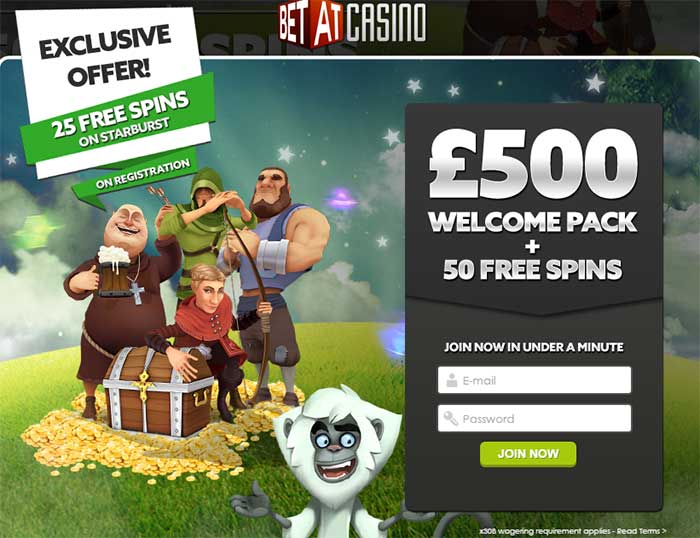 BetAt Casino Bonuses - No Codes Required!