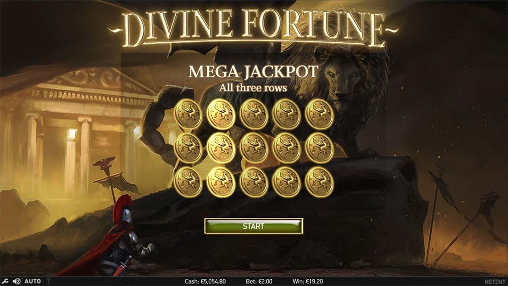 Divine Fortune Slot - Mega Jackpot