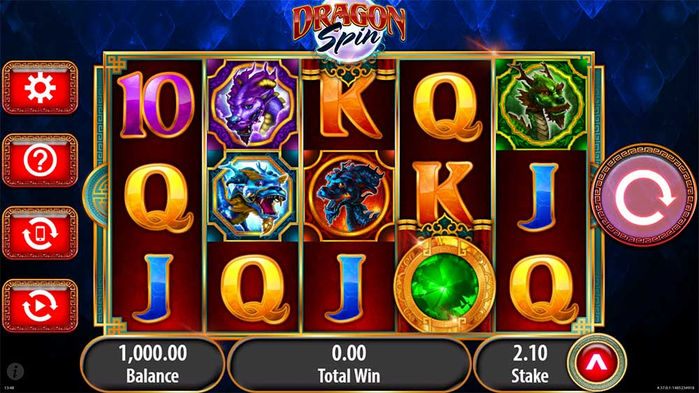 Dragon Spins Slot - Base Gameplay