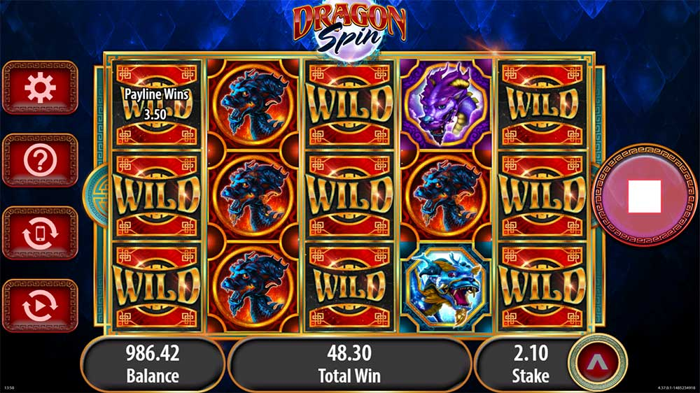 Dragon Spins Slot - Big Win