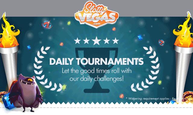 Slotty Vegas Slot Tournaments