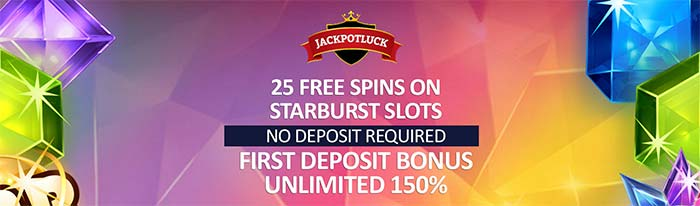 25 Free Spins No Deposit - Jackpot Luck Casino