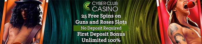 25 Free Spins No Deposit - Cyber Club Casino