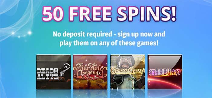 50 Free Spins No Deposit Spin Genie Casino