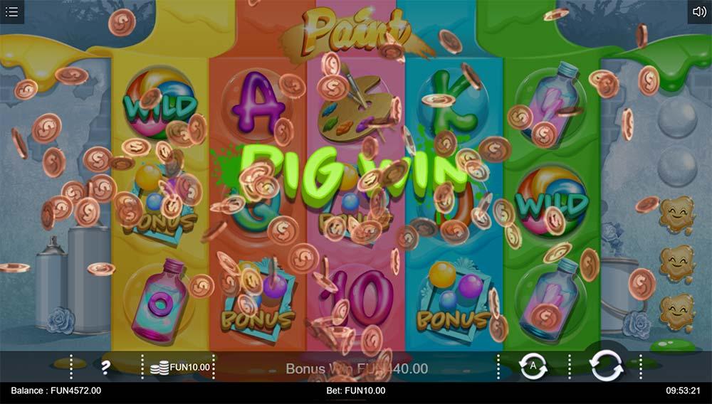 Paint Slot - Big Win