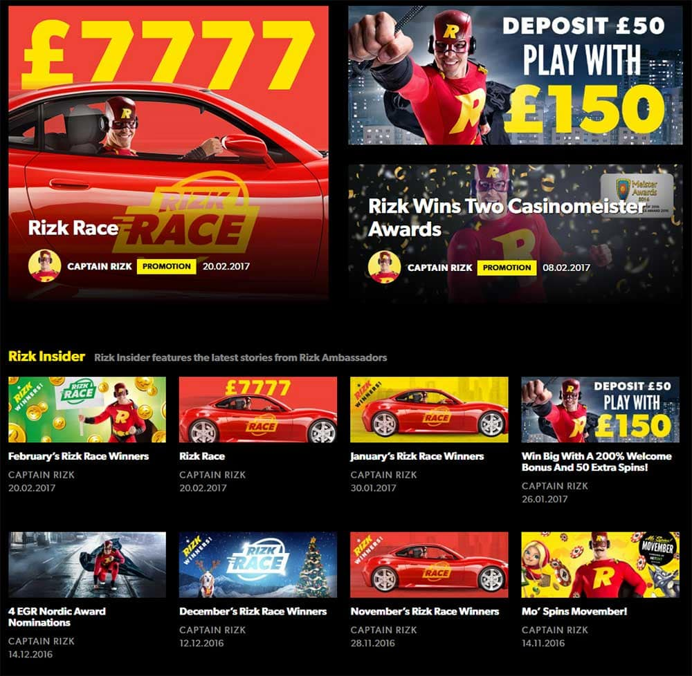 Rizk UK Casino Bonus Terms and Conditions - Rizk UK Online Casino