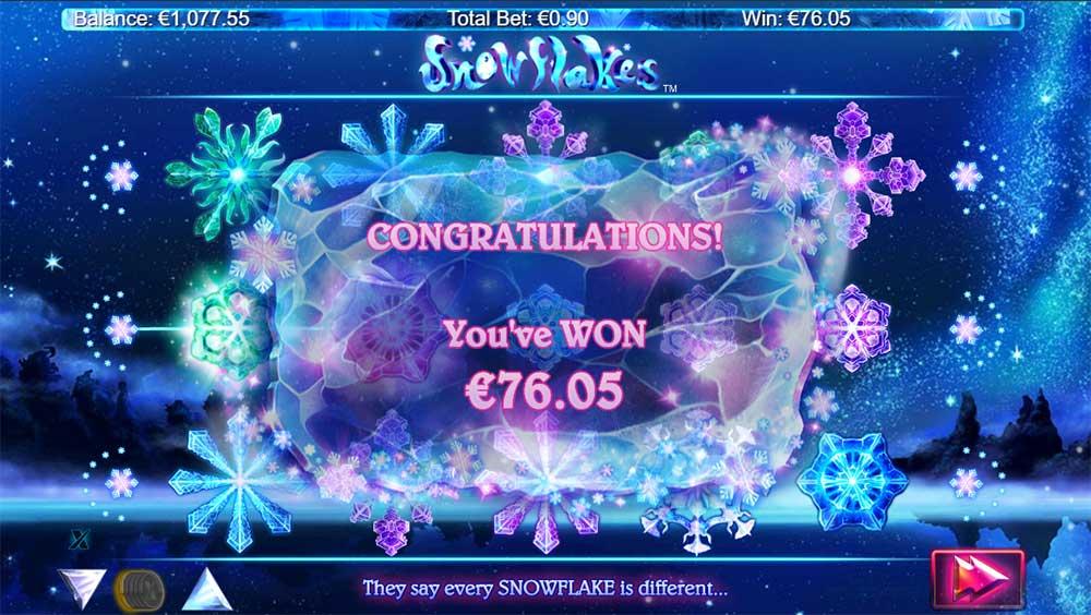snowflakes casino