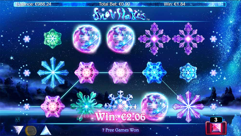 Snowflakes Slot - Scatter Trigger