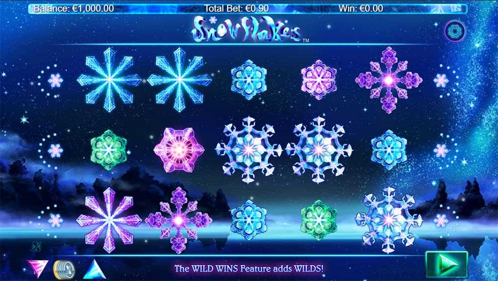 Snowflakes Slot - Base Gameplay