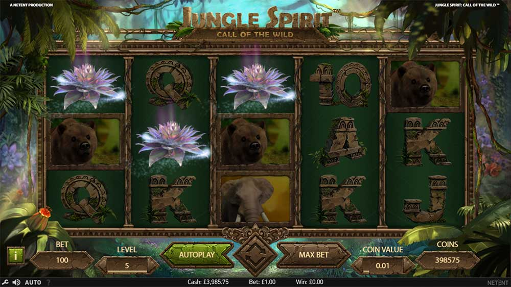Jungle Spirit Slot - Scatter Trigger