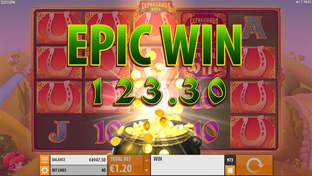 Leprechaun Hills Slot - Epic Win