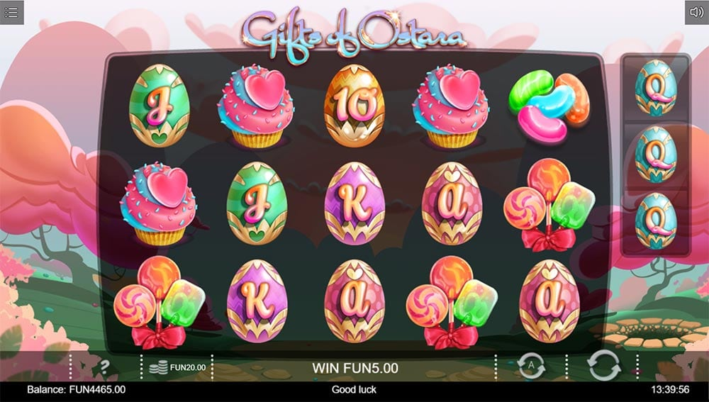 Gifts of Ostara Slot - Bonus Trigger