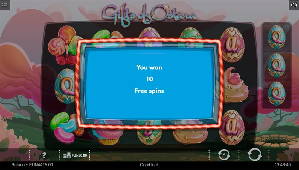 Gifts of Ostara Slot - Free Spins