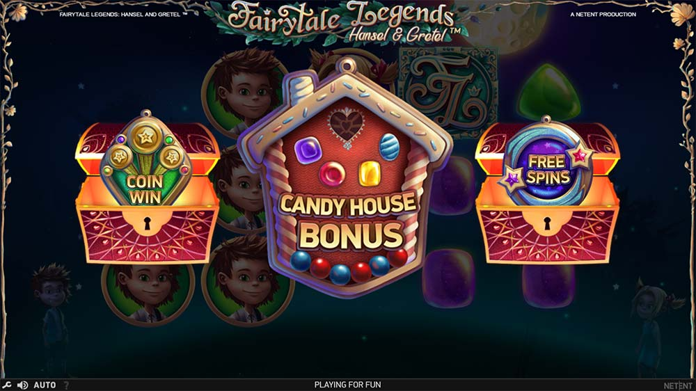 Fairytale Legends - Hansel & Gretel Slot - Bonus Round Trigger