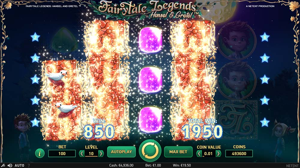 Fairytale Legends - Hansel & Gretel Slot - Wild Re-Spins