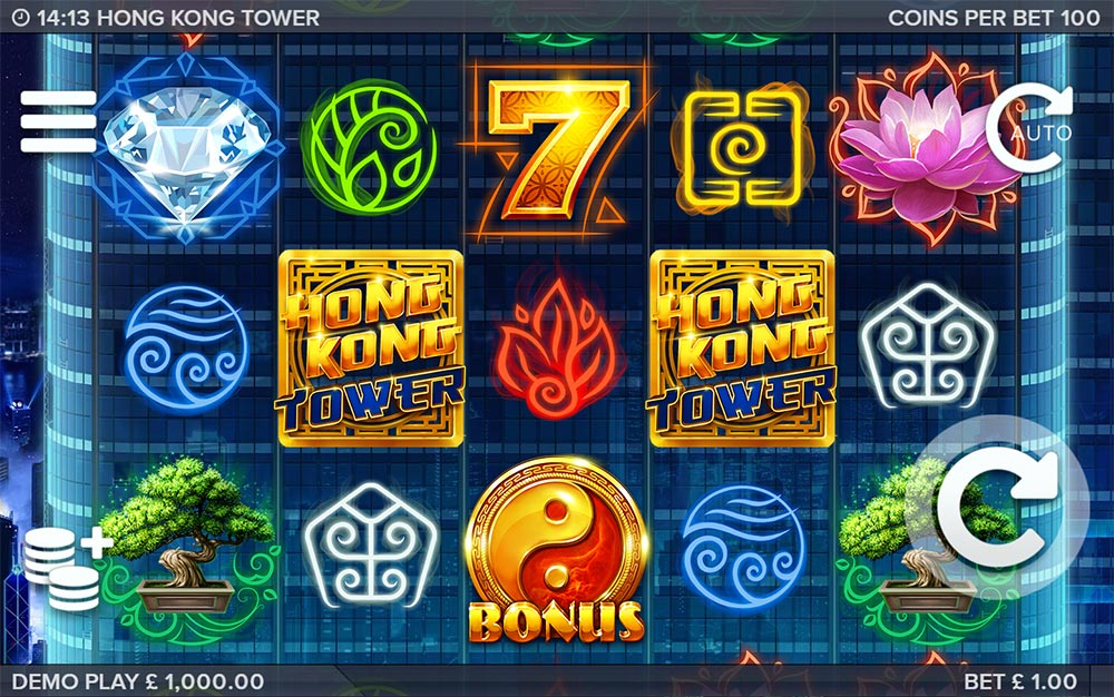 Hong Kong Tower Slot - Base Game