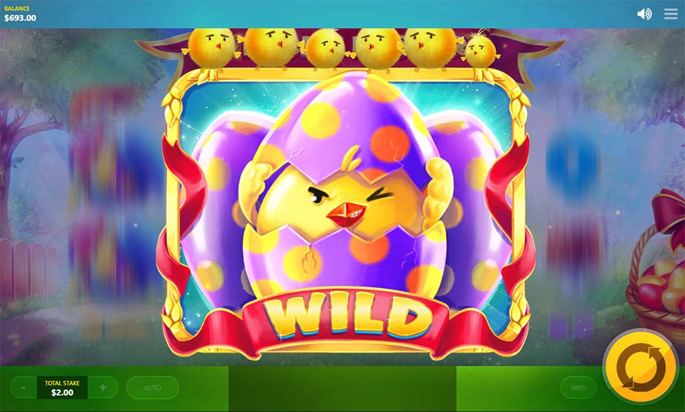 Lucky Easter Slot - 3x3 Wild Symbol
