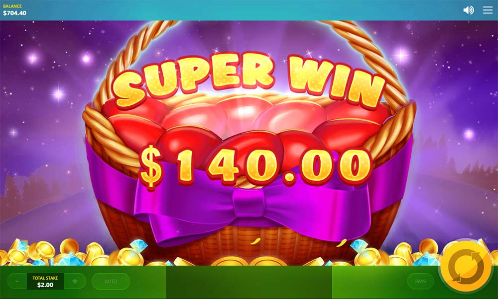 Lucky Easter Slot - Super Big Win