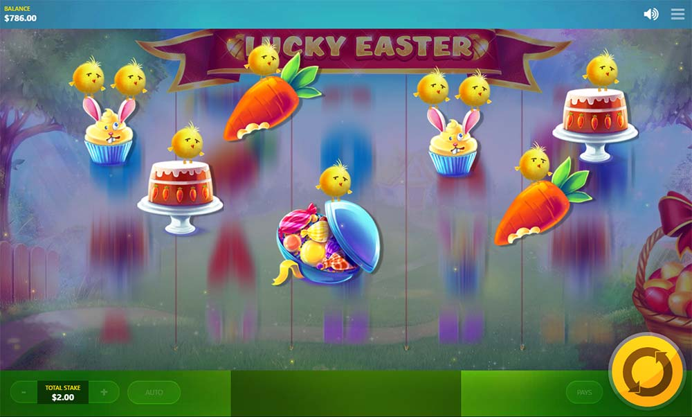 Lucky Easter Slot - High Symbol Mode