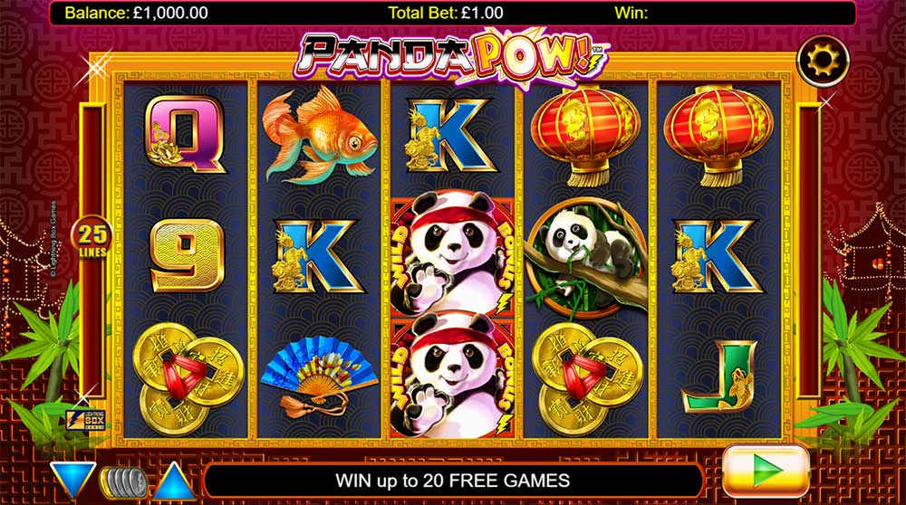 Panda Pow Slot - Base Game