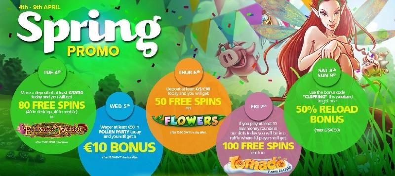 Bonanza free spins