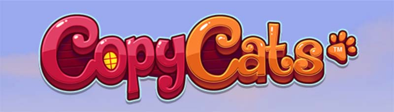 Copy Cats Slot Logo