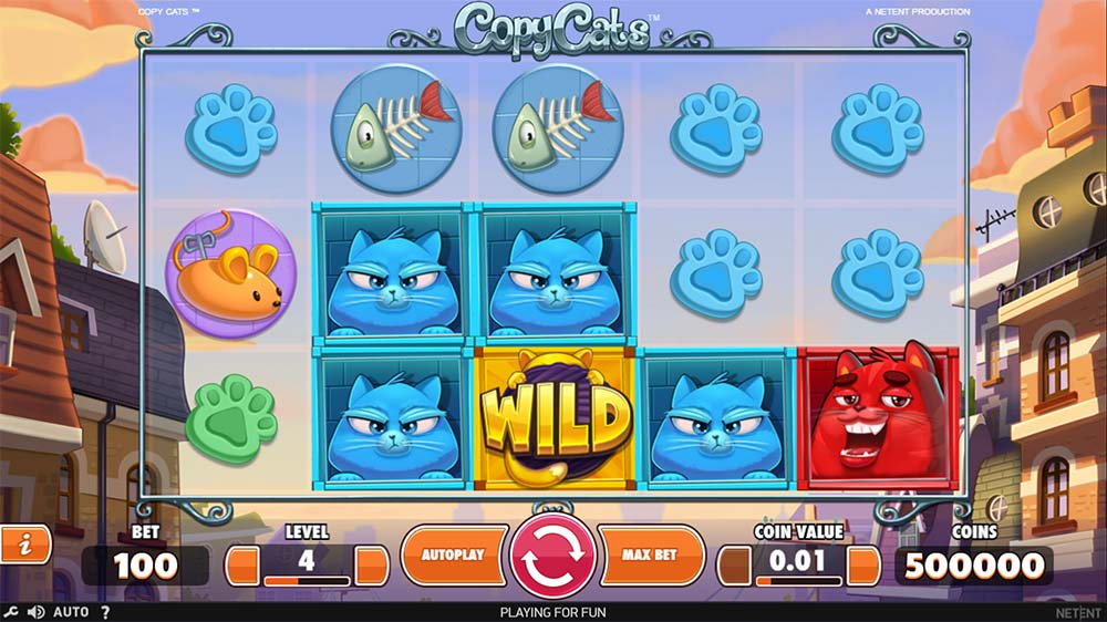 Copy Cats Slot - Base Game