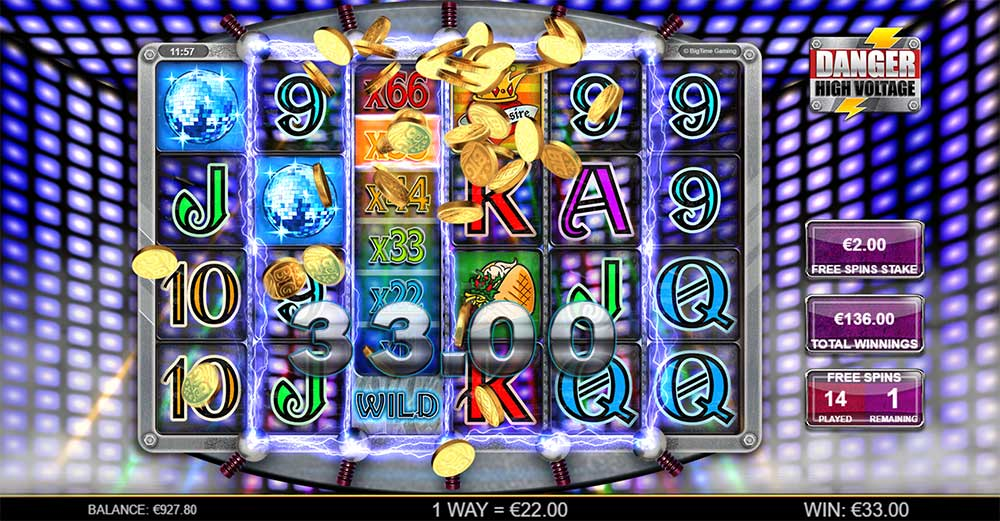 Danger High Voltage Slot - High Voltage Free Spins