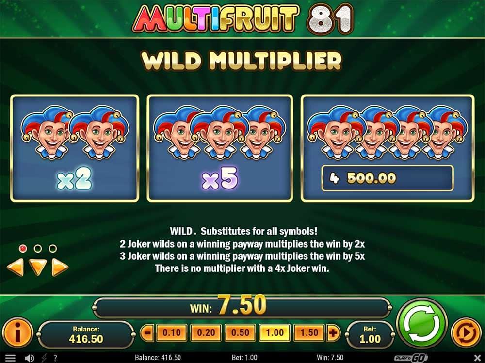 81 Wins Slot Machine