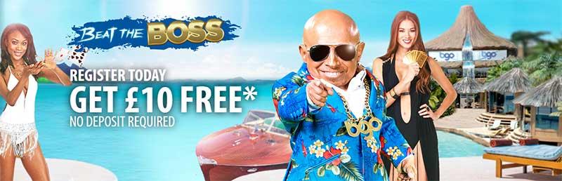 £10 Free No Deposit - BGO Casino