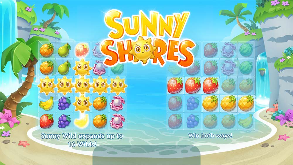 Sunny Shores Slot - Intro Screen