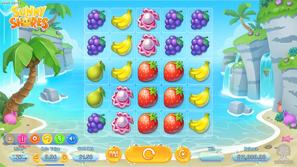 Sunny Shores Slot - Base Game