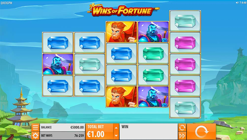 Wins of Fortune Slot - Base Game