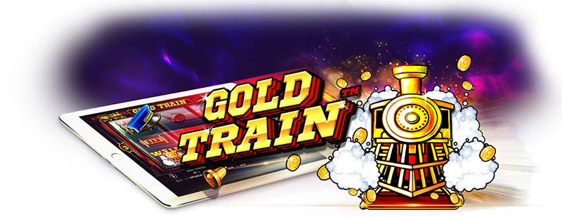 Gold Train Slot Logo