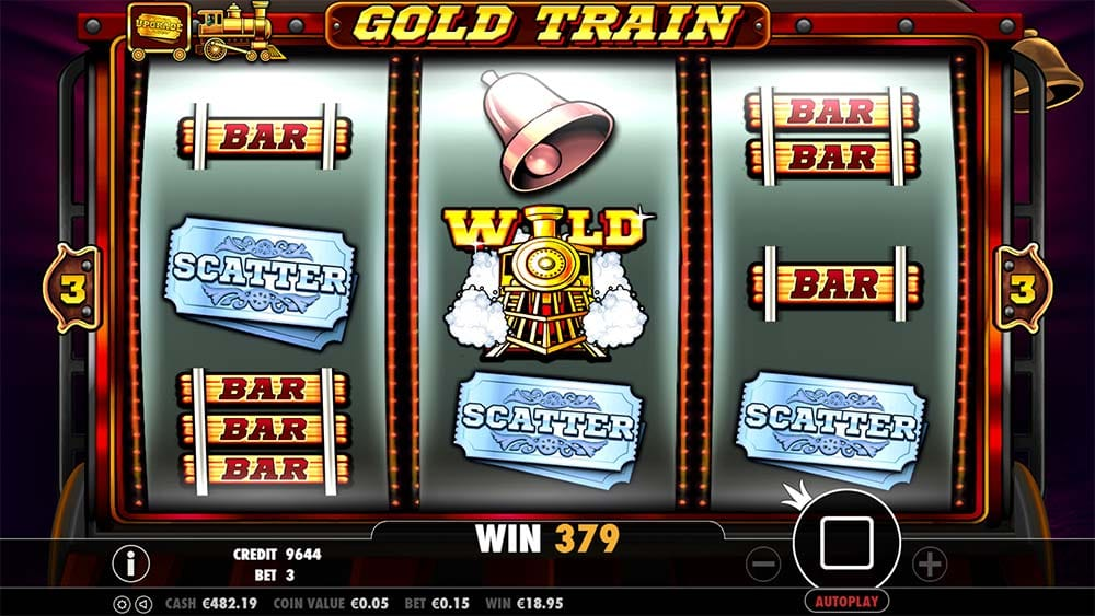 Gold Train Slot - Bonus Trigger