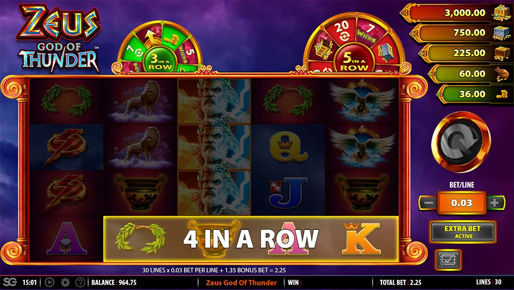 Thunder Zeus Slots - Play the Free Casino Game Online