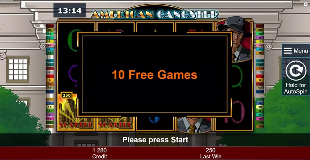 American Gangster Slot - Free Spins