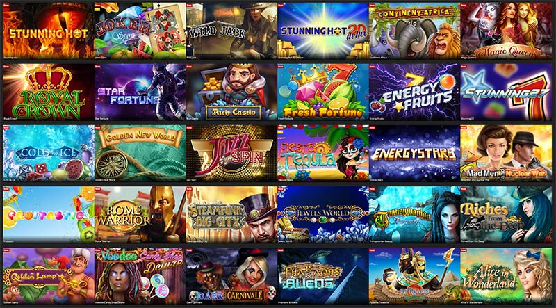 BeeFee Games Slots Range - Energy Casino