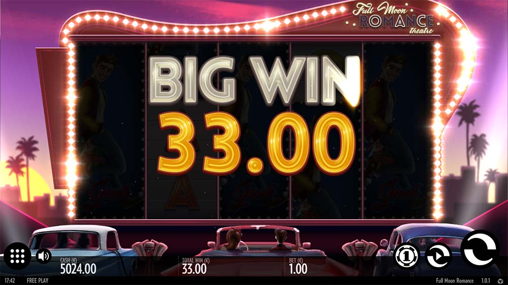 Full Moon Romance Slot - Big Win