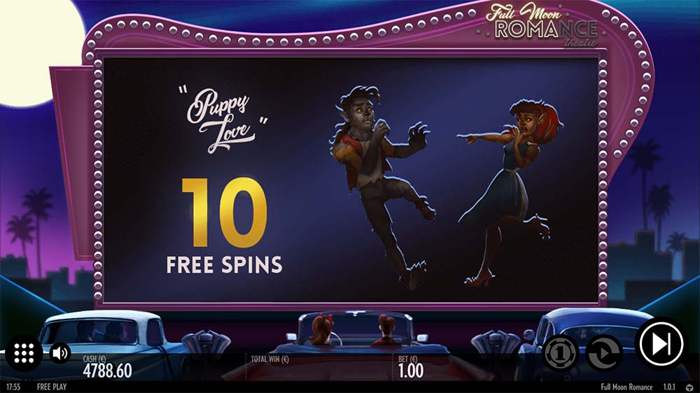 Full Moon Romance Slot - Free Spins