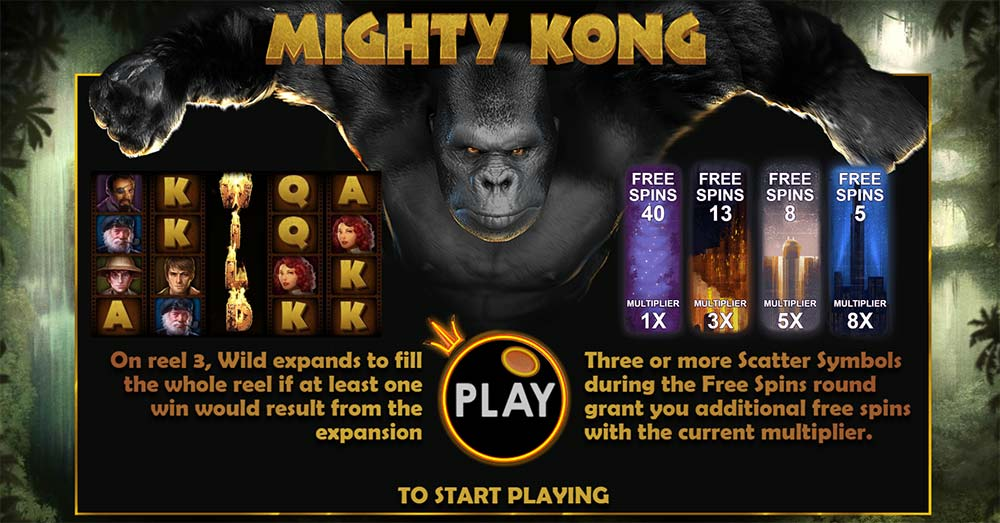 Mighty Kong Slot - Play the Free Pragmatic Play Casino Game Online