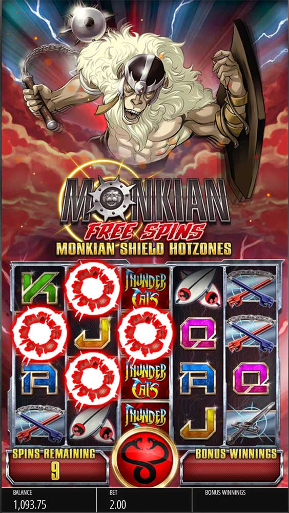 Thundercats Slot - Monkian Free Spins