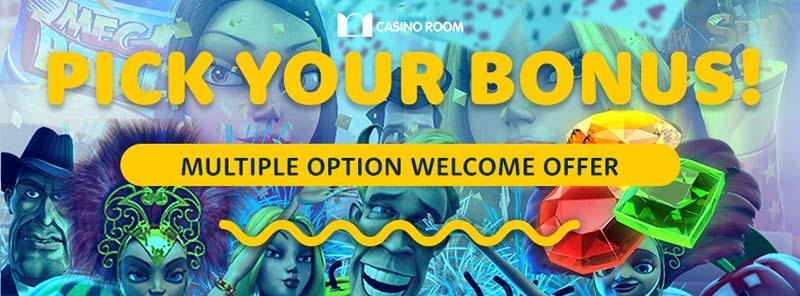Casino Room Welcome Bonuses 2017