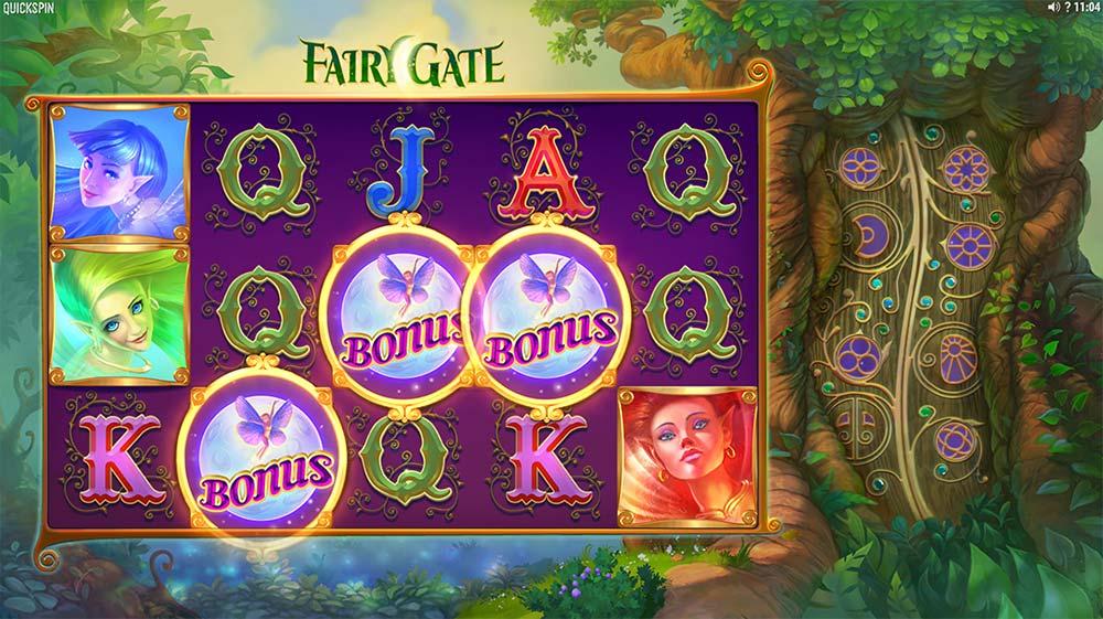 Fairy Gate Slot - Bonus Trigger