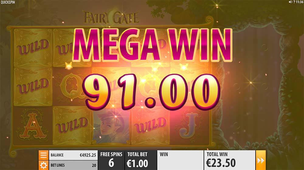 Fairy Gate Slot - Mega Win
