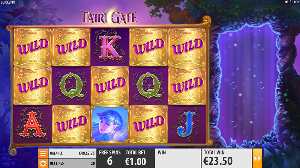 Fairy Gate Slot - Added Wilds