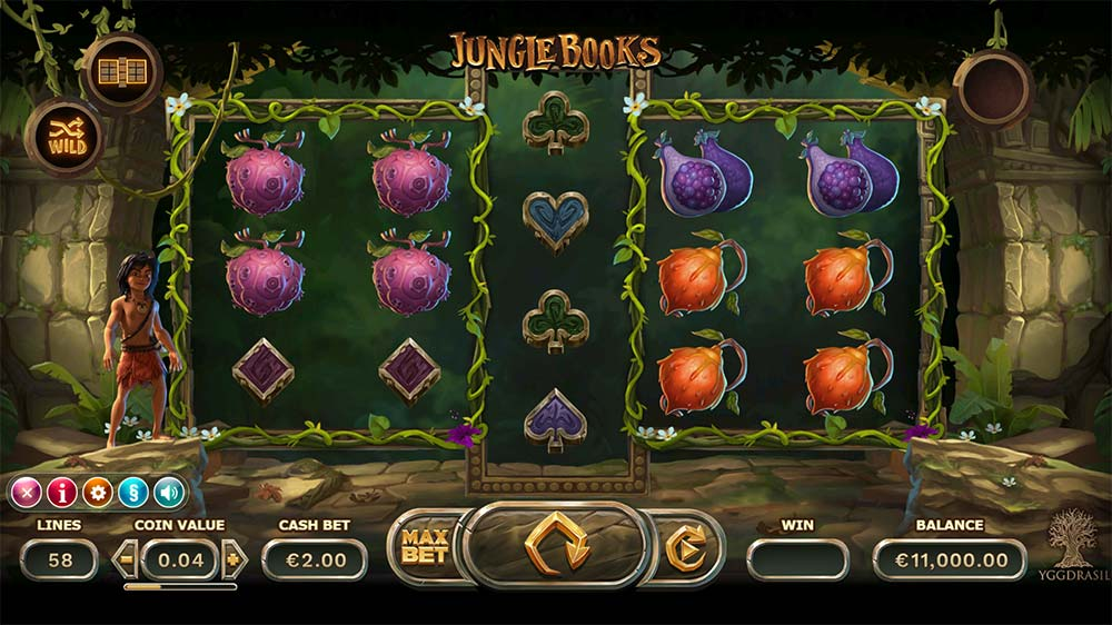 Jungle Books Slot - Base Game