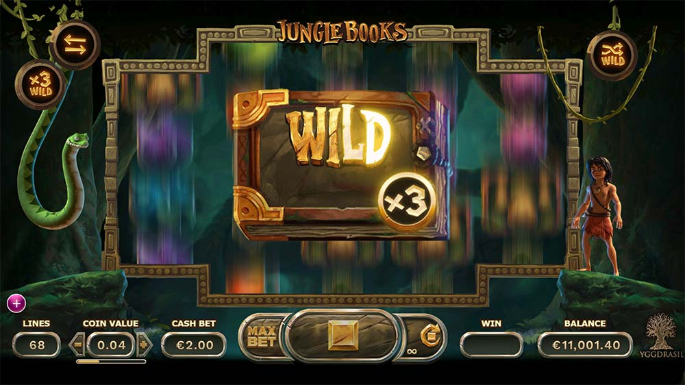 Jungle Books Slot - Bonus Features Added