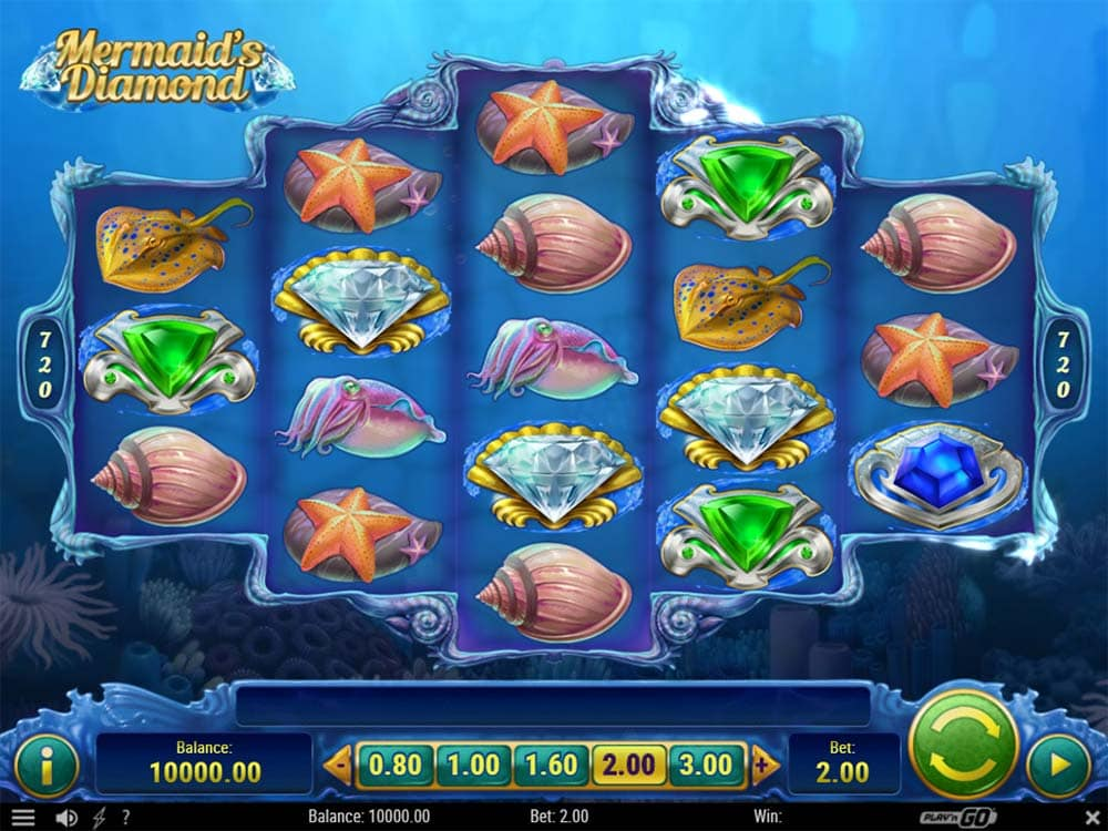 Mermaid's Diamond Slot - Base Game